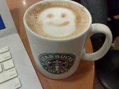 Starbucks coffee photo