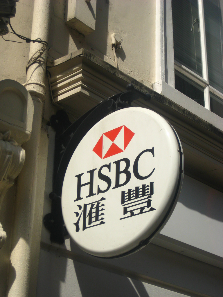 hsbc bank photo