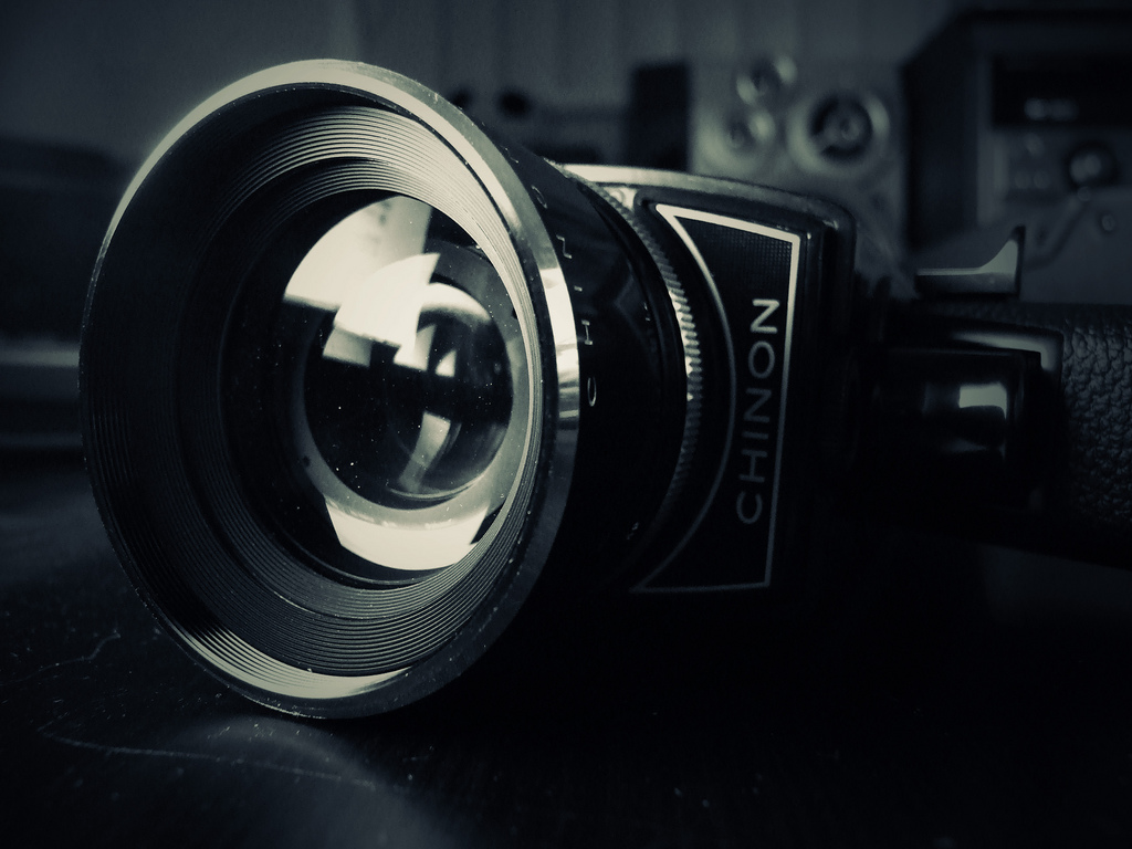 movie camera photo