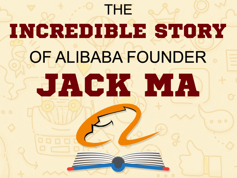 The Incredible Story of Alibaba Founder Jack Ma [Infographic]