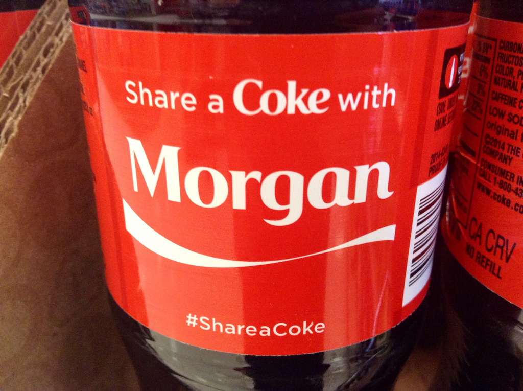 Share a coke photo